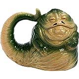 星球大战 Jabba The Hutt 567 毫升雕刻陶瓷马克杯 绿色 标准 55695