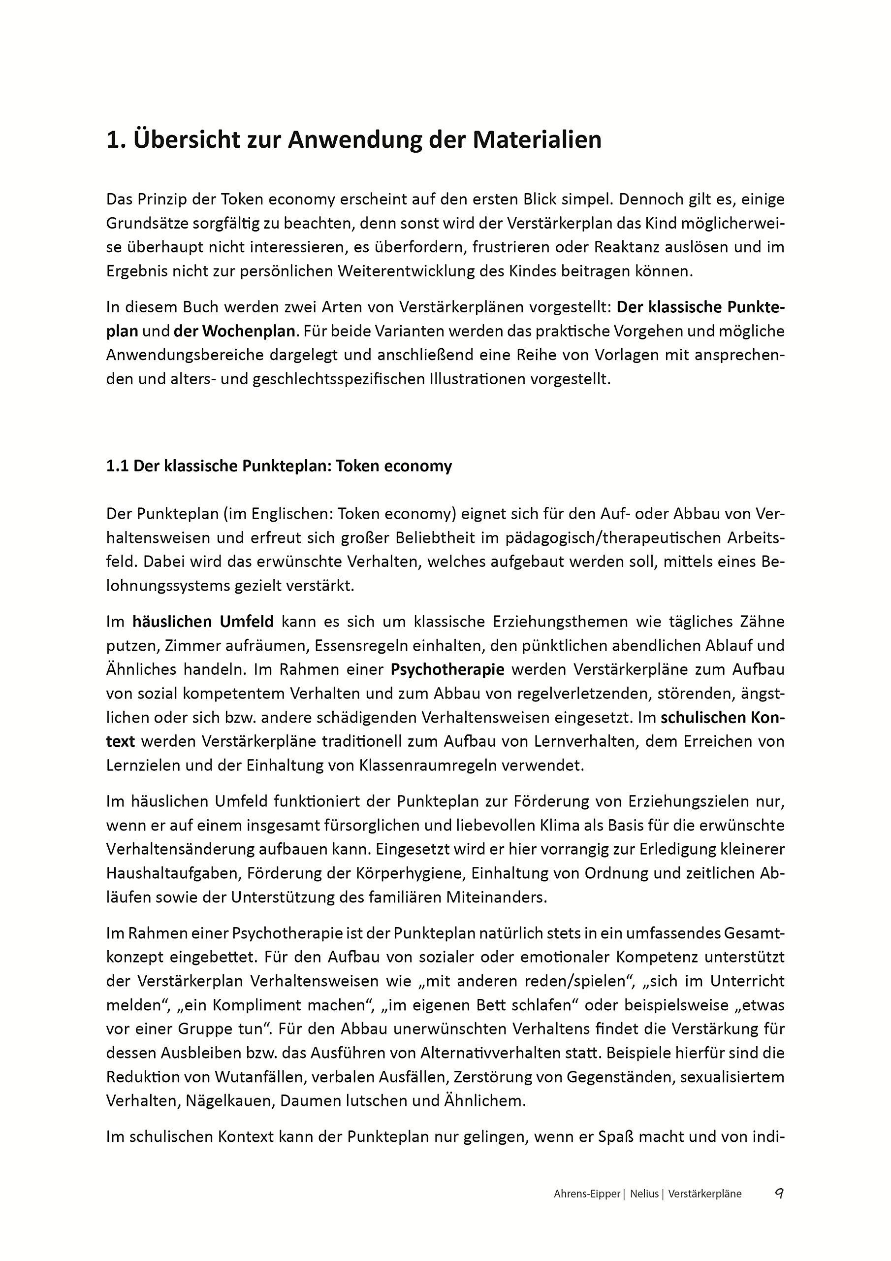 Verstärkerpläne: Materialien zur Selbst- und Fremdverstärkung ...