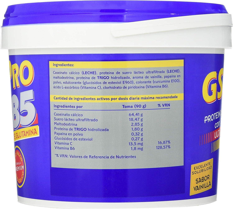 Gsn Gsn Pro 85 Vainilla 1 Kg 1 Kg 1000 ml: Amazon.es: Salud y ...