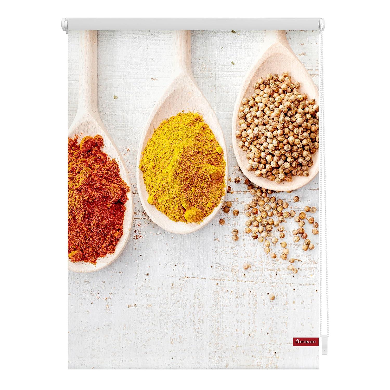 Lichtblick KRT.060.150.343 Rollo Klemmfix, ohne Bohren, Blickdicht, Spices - Bunt 60 x 150 cm (B x L) B06Y5HF3N3 Seitenzug- & Springrollos