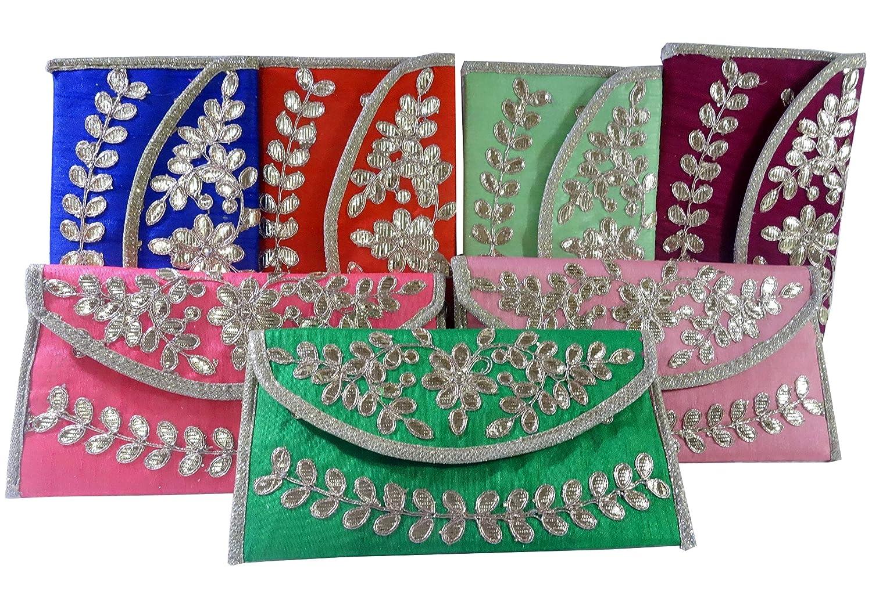 - Indian Wholesale 200 pc lot Bulk Mandala Hand Bag Ethnic Clutches Purse Shoulder for Ladies by Panchal Creation-12