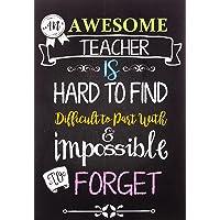 Teacher Notebook: An Awesome Teacher Is ~ Journal or Planner for Teacher Gift: Great for Teacher Appreciation/Thank You…