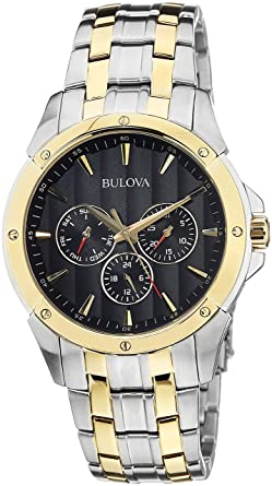 Image Unavailable. Image not available for. Color  Bulova Men s 98C120 Sport  ... 6228dd6be16