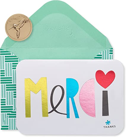 Papyrus Merci Thank You Cards