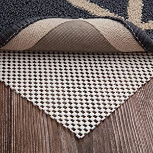 LHFLIVE 3' x 5' Non-Slip Area Rug Pad Extra Thick Rug Gripper for Any Hard Surface Floors, Keep Your Rugs Safe and in Place