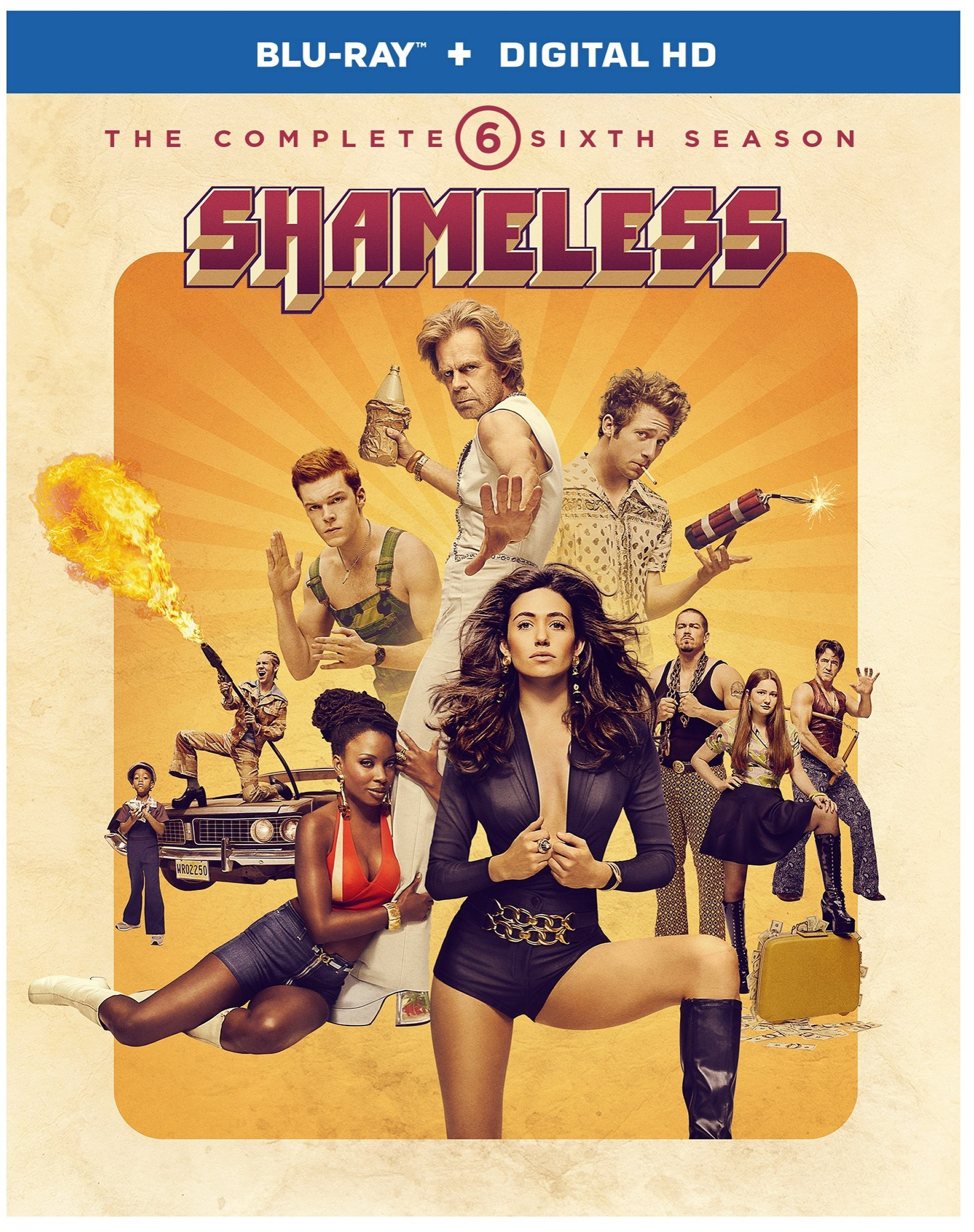 Blu-ray : Shameless: The Complete Sixth Season (Dolby, AC-3, , Dubbed, 2 Pack)