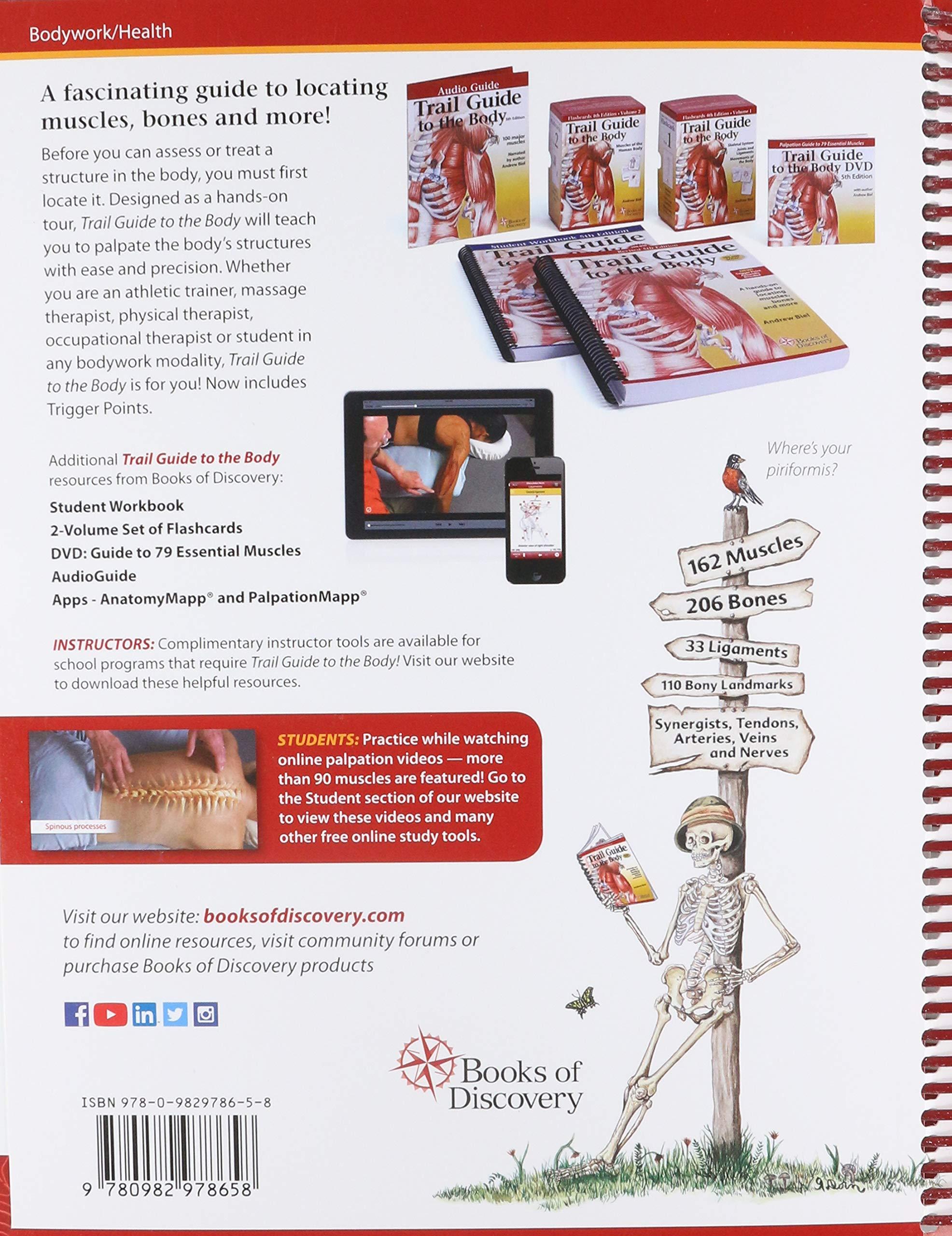 Guía de senderos para el cuerpo: cómo localizar las musculas, los huesos y más revisada 5ta edición: Amazon.es: Biel, Andrew: Libros en idiomas extranjeros