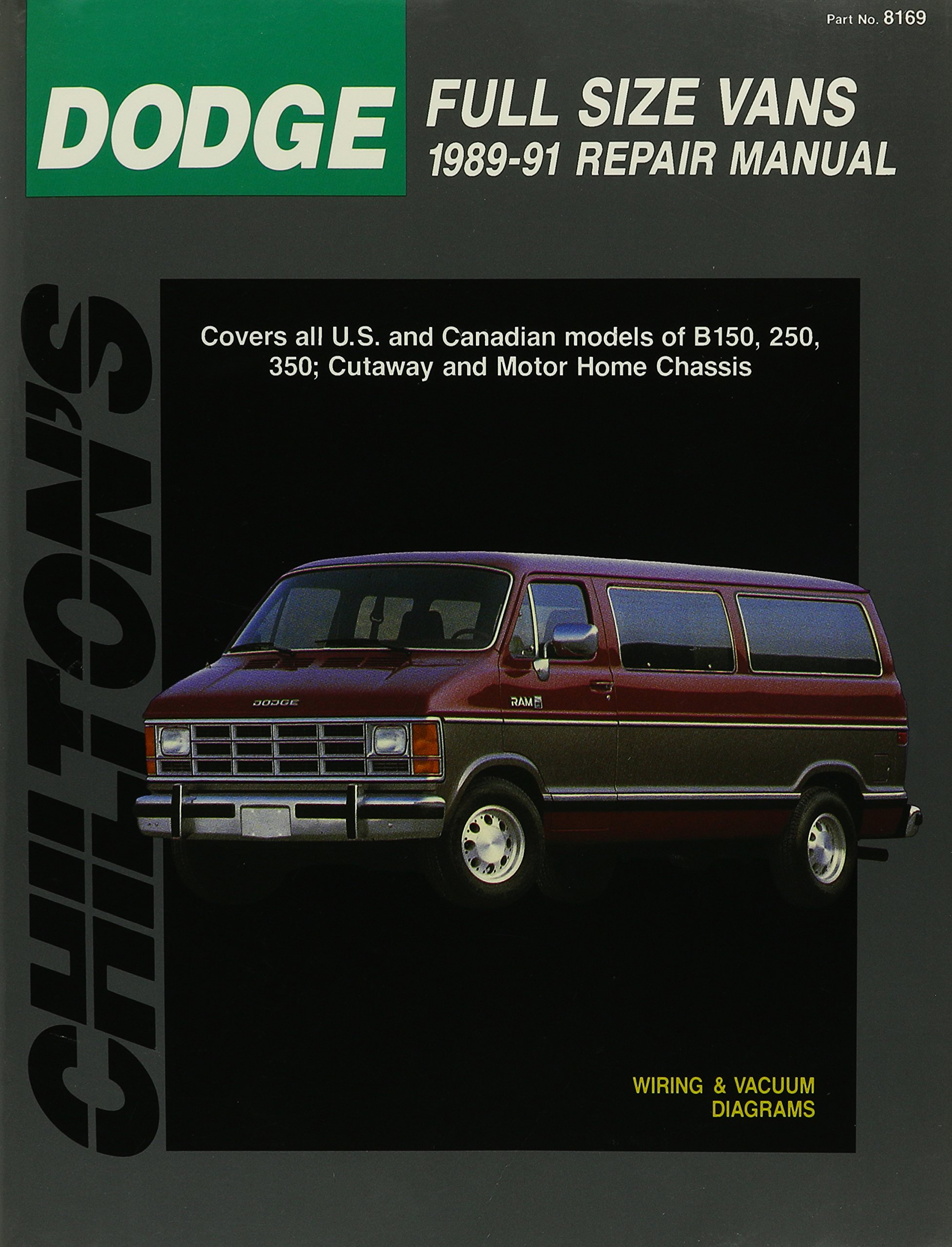 Chilton's Ford Full Size Vans 1989-91 Repair Manual (Total Car Care  Series): Chilton's Automotive Editorial Dept, Richard J. Rivele:  9780801981579: ...