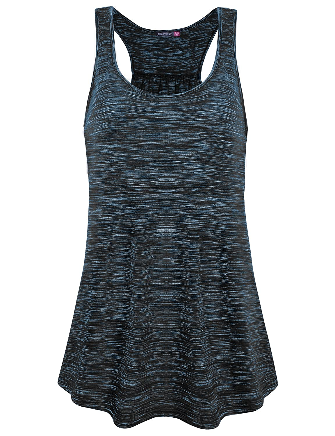 f6f83dbaf5 Bust: (M) 35.5 inches (L) 37.8 inches (XL) 40.3 inches (XXL) 43.1 inches.  If you are looking for a summer blouse, this sport style tank top ...