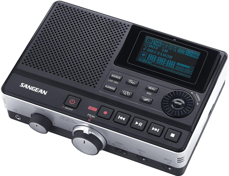 Sangean Dar 101 Professional Grade Digital Mp3 Recorder Simple Telephone Black Electronics