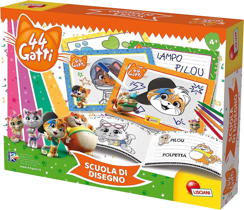 Lisciani Giochi 76048 44 Gatti Scuola Di Disegno Amazon It Giochi E Giocattoli