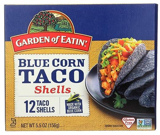 Amazon.com : Garden of Eatin, Taco Shells, Blue Corn, 5.5 ...