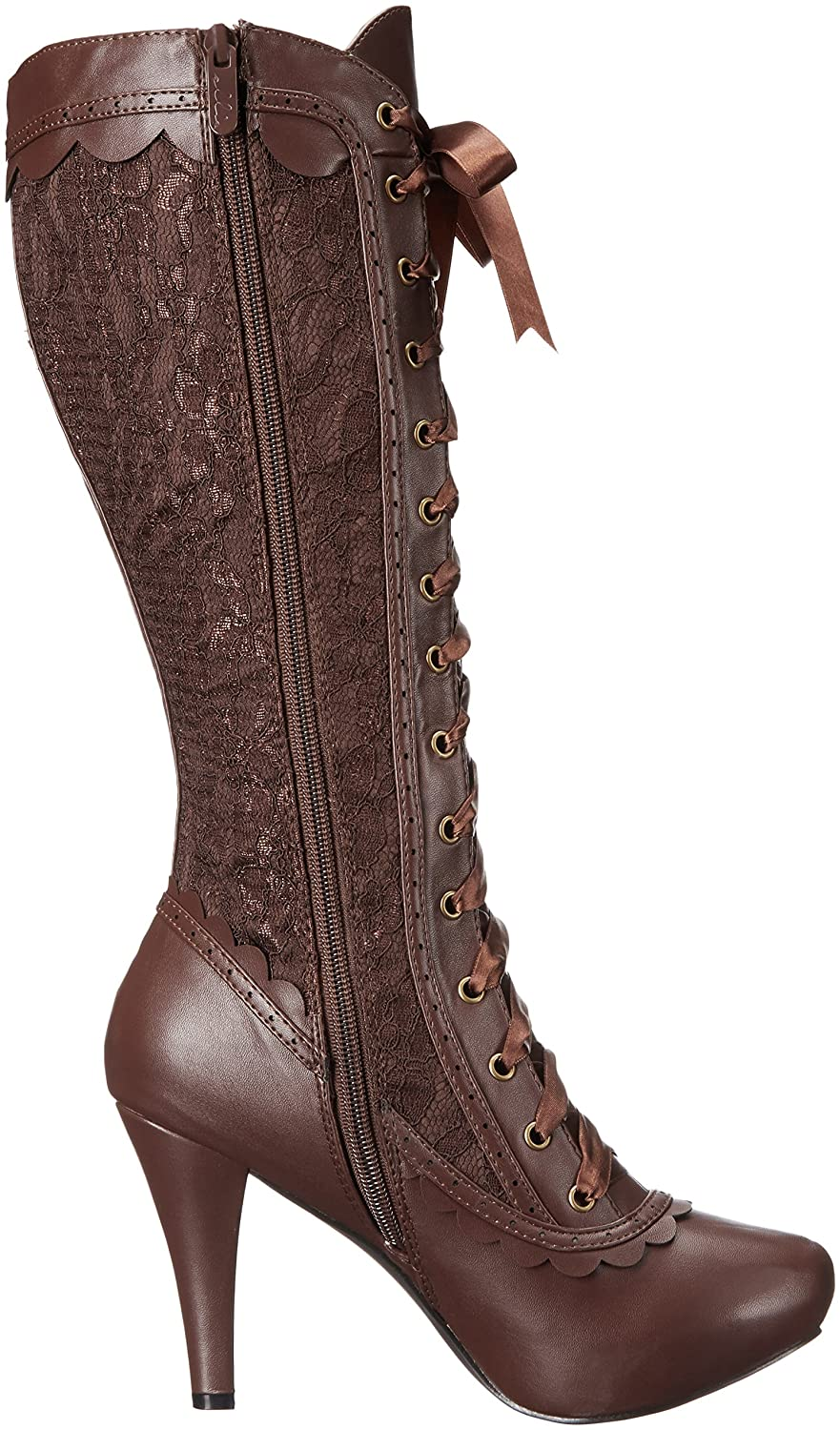 Ellie Shoes Women's 414-Mary Boot B01IRX411K 6 B(M) US|Brown