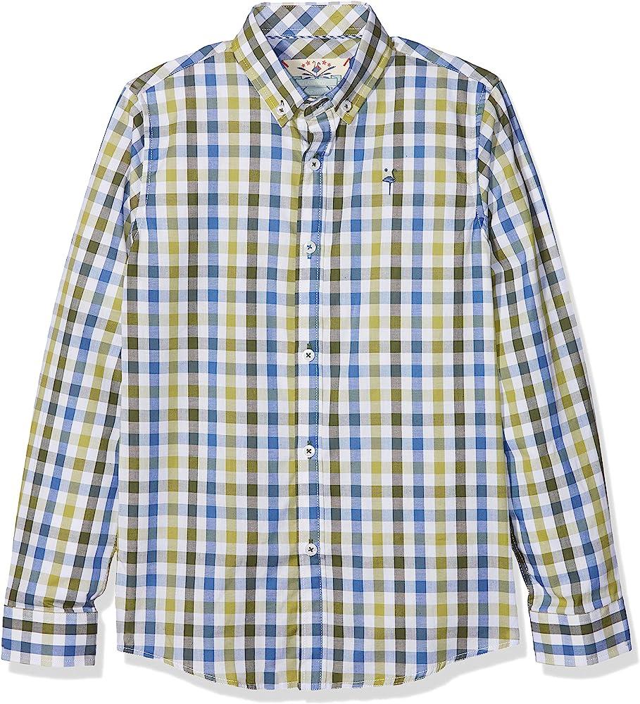 EL FLAMENCO Oxford Camisa, Verde, (Tamaño del Fabricante:12) para Niños: Amazon.es: Ropa y accesorios