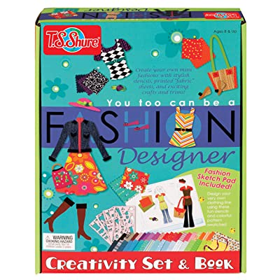 T.S. Shure You Too Can be a Fashion Designer Creativity Set & Book: Toys & Games