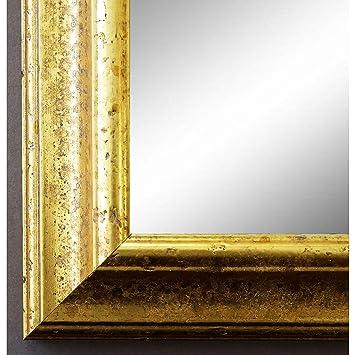 online galerie bingold spiegel wandspiegel badspiegel flurspiegel garderobenspiegel Über 200 größen genua gold 4,3 außenmaß des spiegels 60 x  wandspiegel ohne makel #8