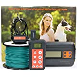 KoolKani Remote Dog Training Shock Collar & Underground/In-ground Electronic Dog Containment Fence System Combo for Small,Medium and Large Dog