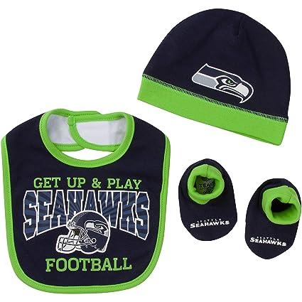 Amazon.com   NFL Seattle Seahawks Unisex-Baby Cap 45e86319083