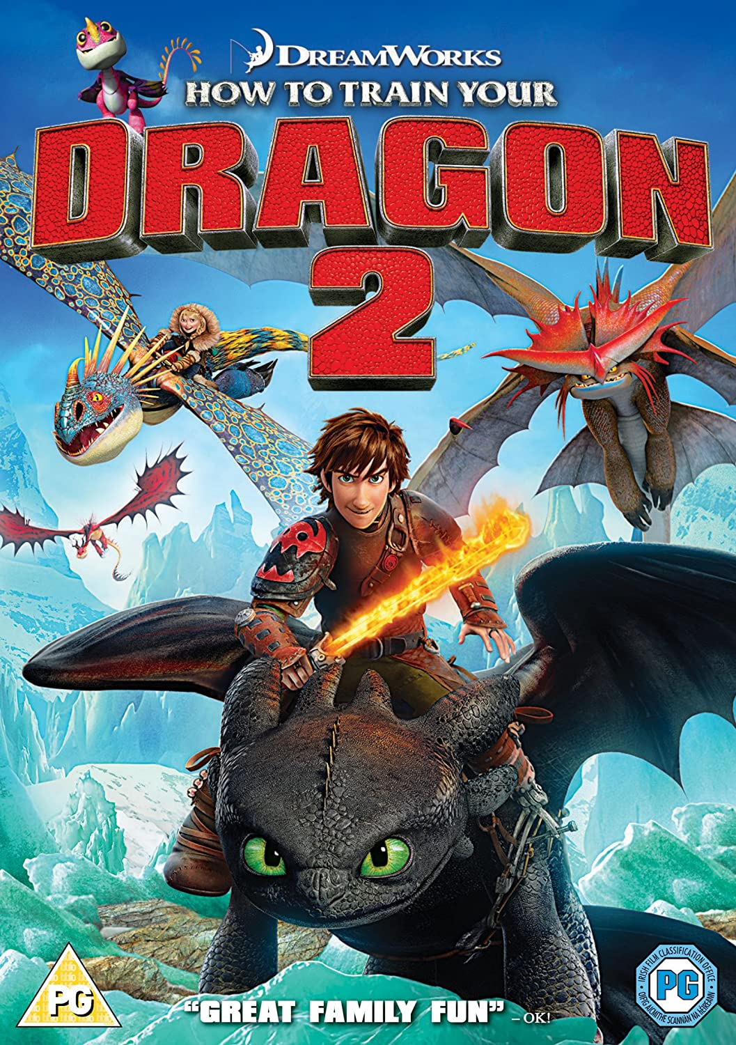 Amazon Com How To Train Your Dragon 2 Dvd Movies Tv