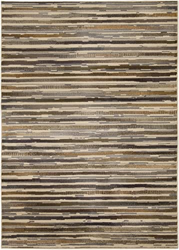 Rug Squared Mariposa Traditional Area Rug , 7-Feet 10-Inches by 10-Feet 6-Inches, Beige