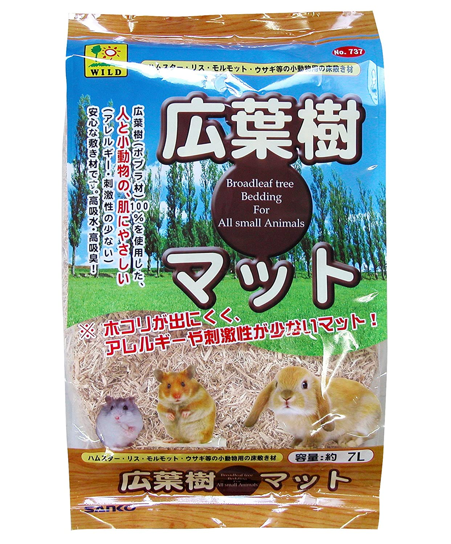 SANKO 小動物用 広葉樹マット 7L