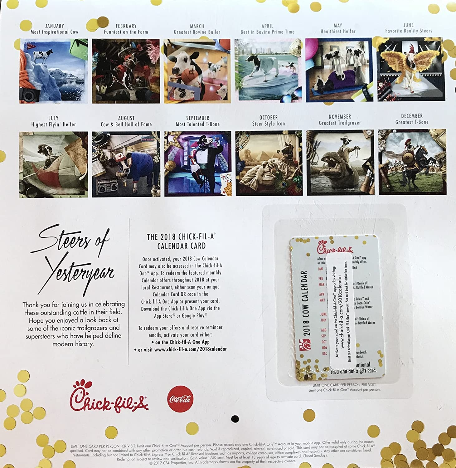 chick fil a calendar june 2019