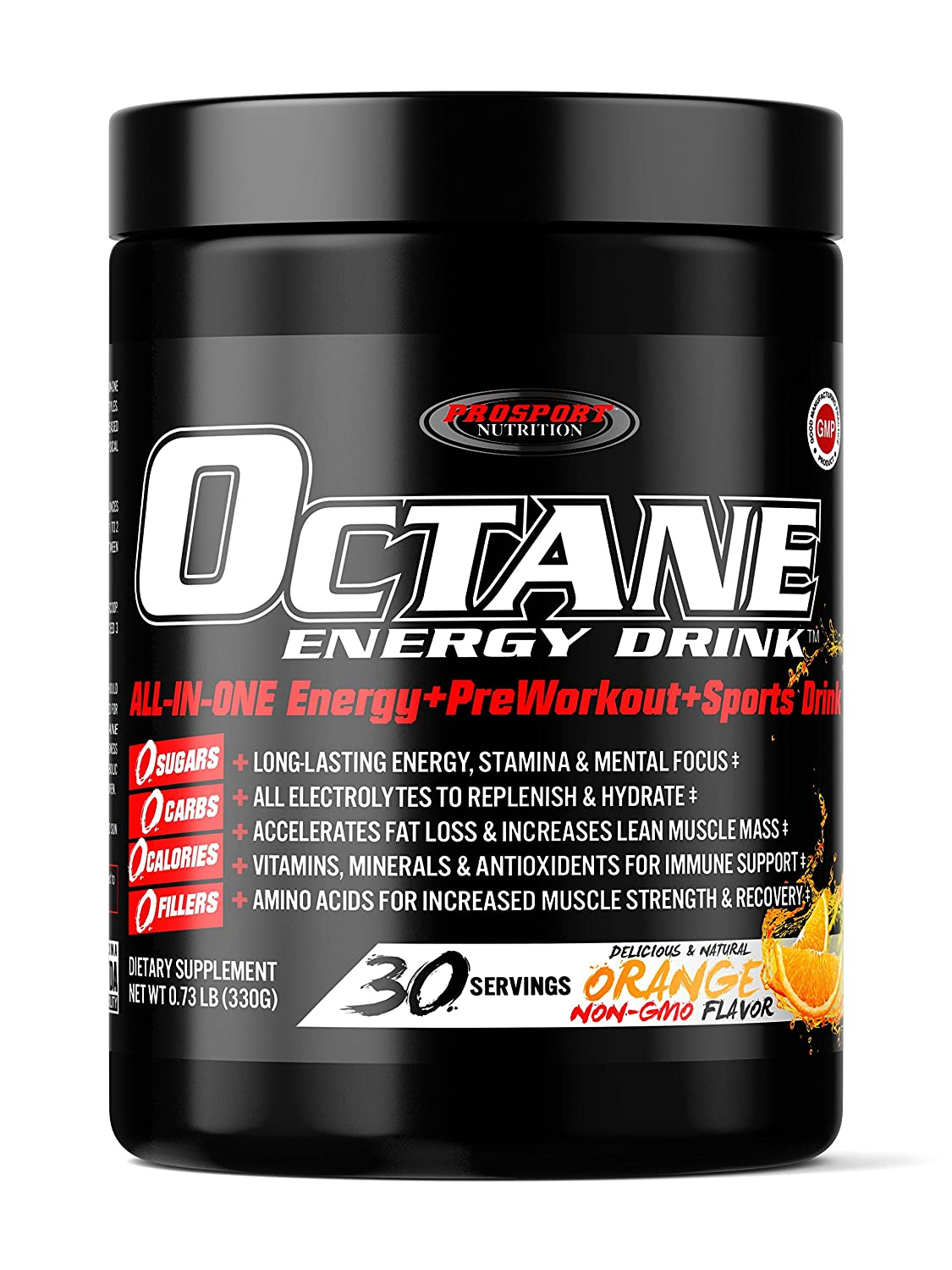 "OCTANE ENERGY DRINK, ALL-IN-ONE Healthy Energy Drink, Sports Drink & Pre-Workout! - 30 Drinks - $2 a drink ""DISCOUNTED"" from MSRP of $3 a drink."