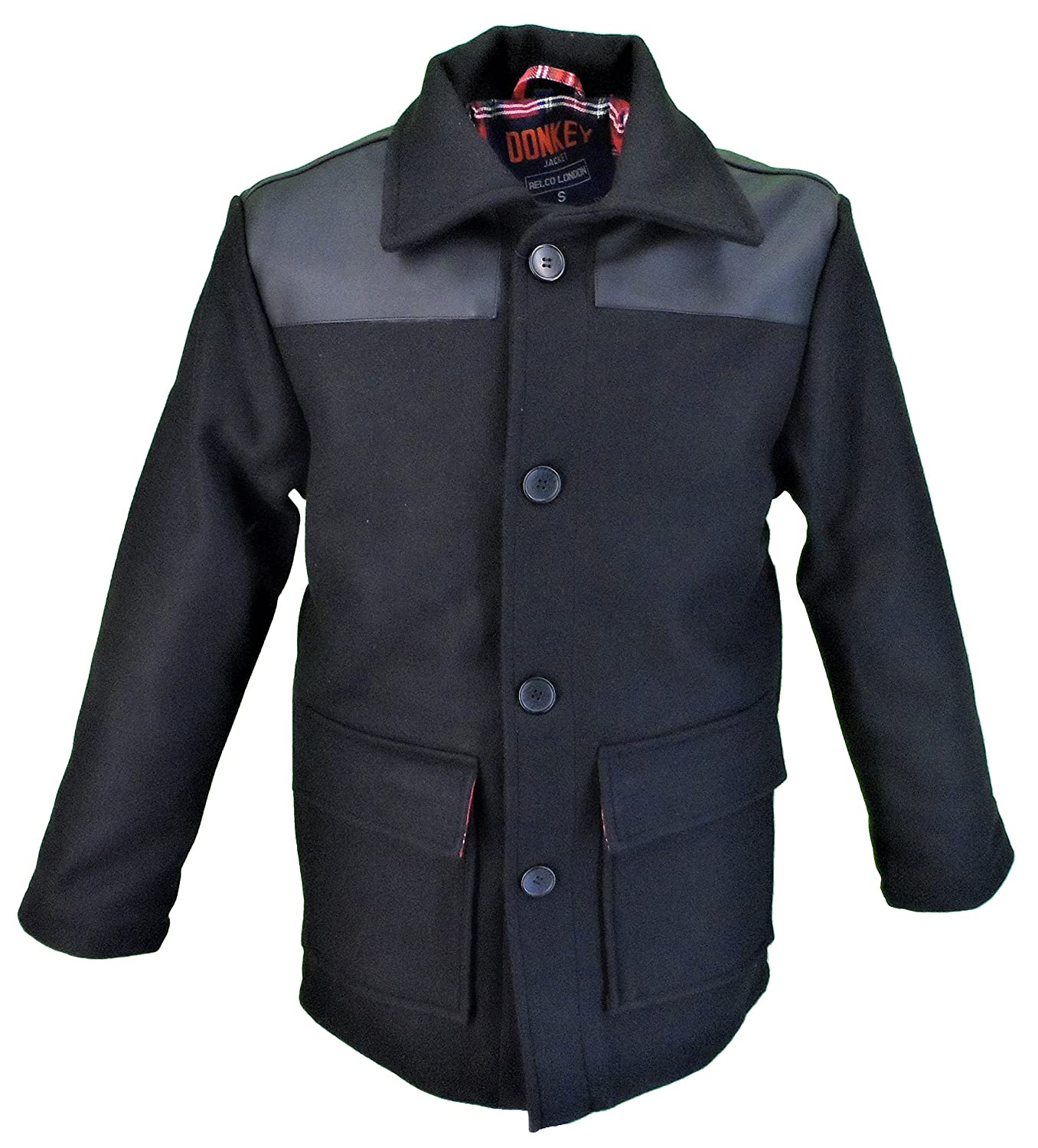 60s 70s Men's Jackets & Sweaters Relco Mens Retro Donkey Jacket £84.99 AT vintagedancer.com
