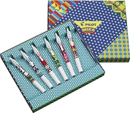 Pilot G-2 Mika - Pack de 6 bolígrafos, multicolor: Amazon.es ...