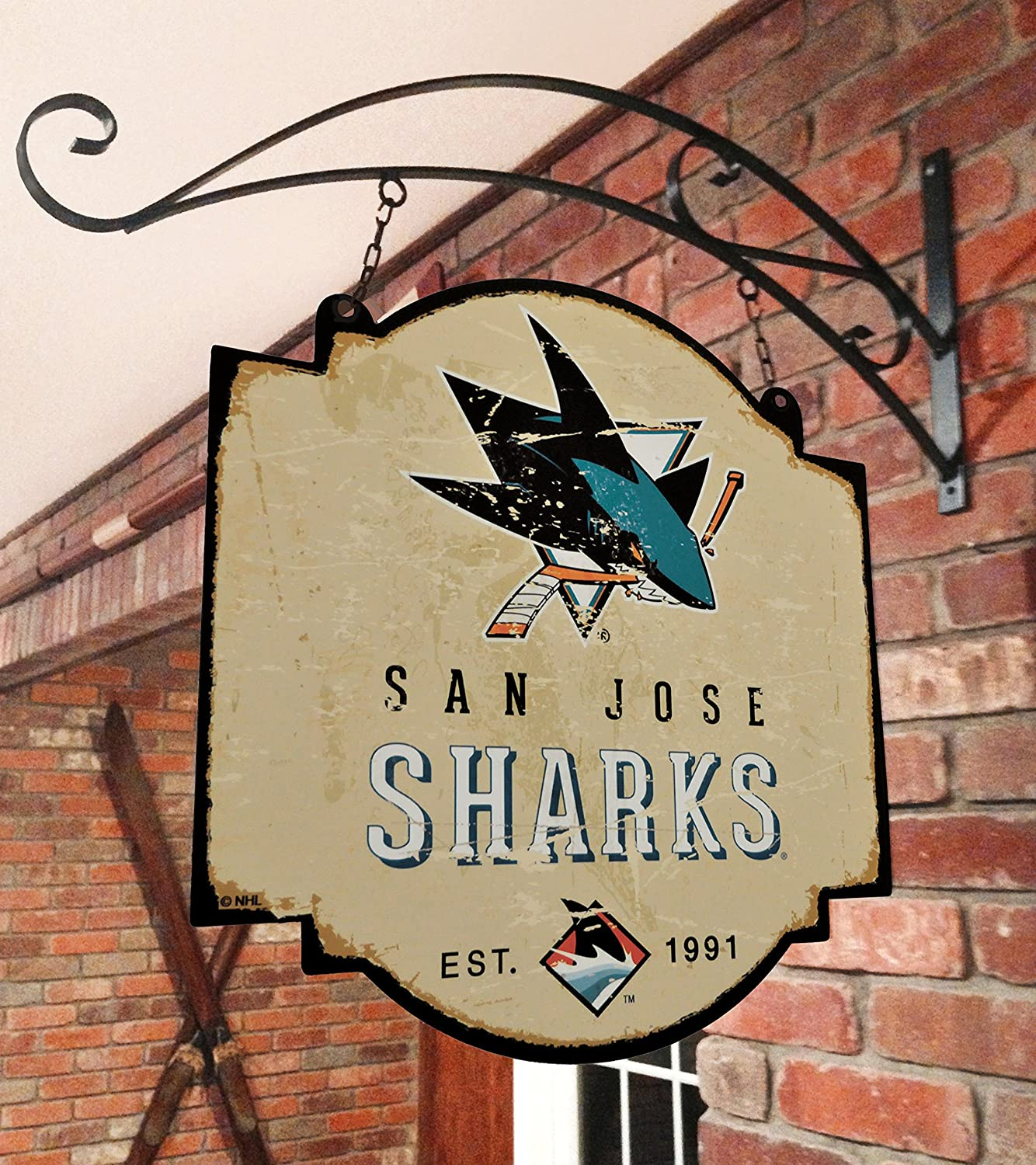 Winning Streak NHL San Jose Sharks Vintage Tavern Sign