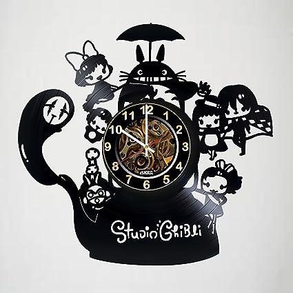 Iskra Shop Studio Ghibli - Vinyl Wall Clock - My Neighbor Totoro - Get  unique kitchen wall decor - Gift ideas for teens 778e8c9fbc