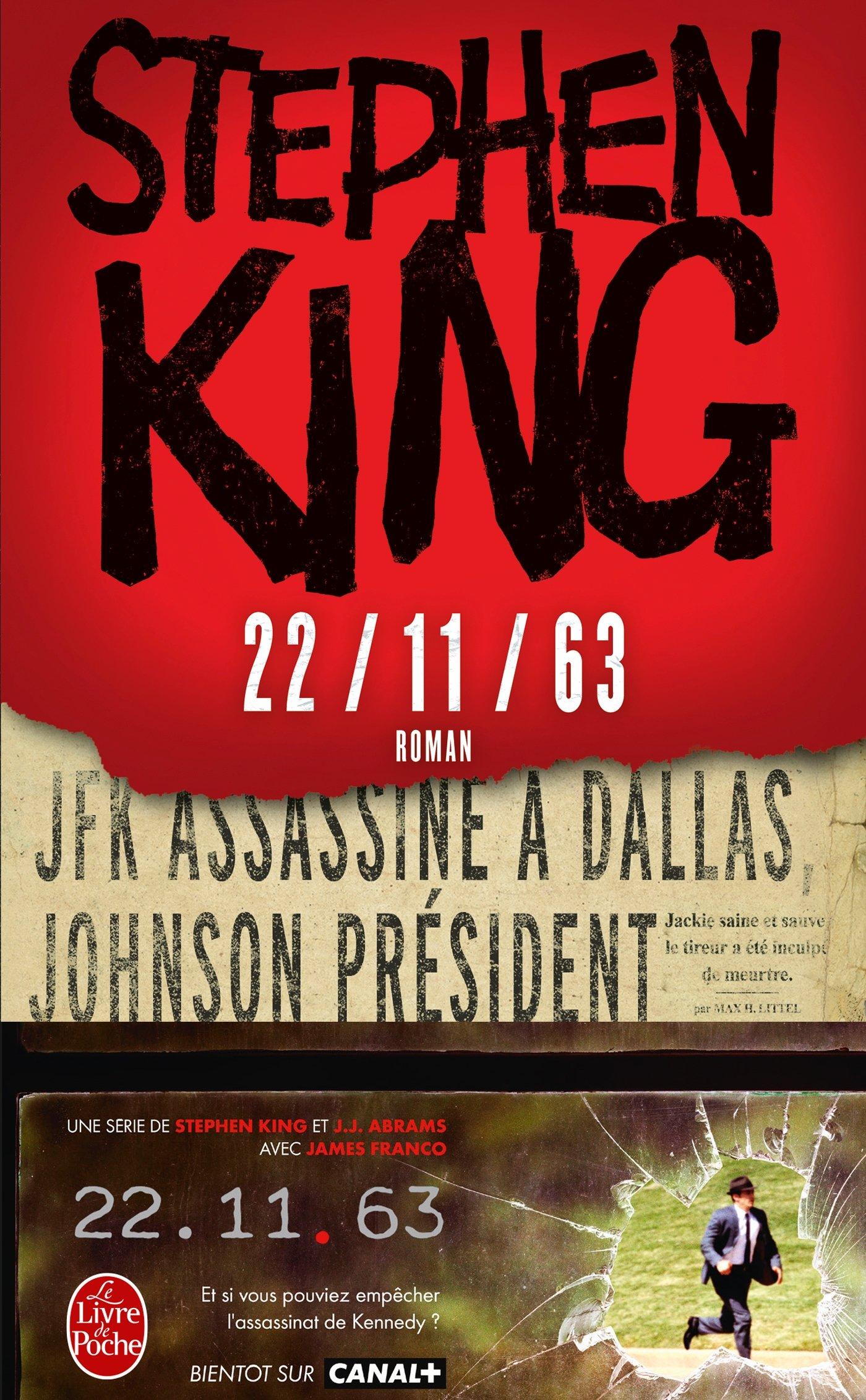 22/11/63 (Anglais) Poche – 1 octobre 2014 Stephen King Le Livre de Poche 2253195103 Fantastique
