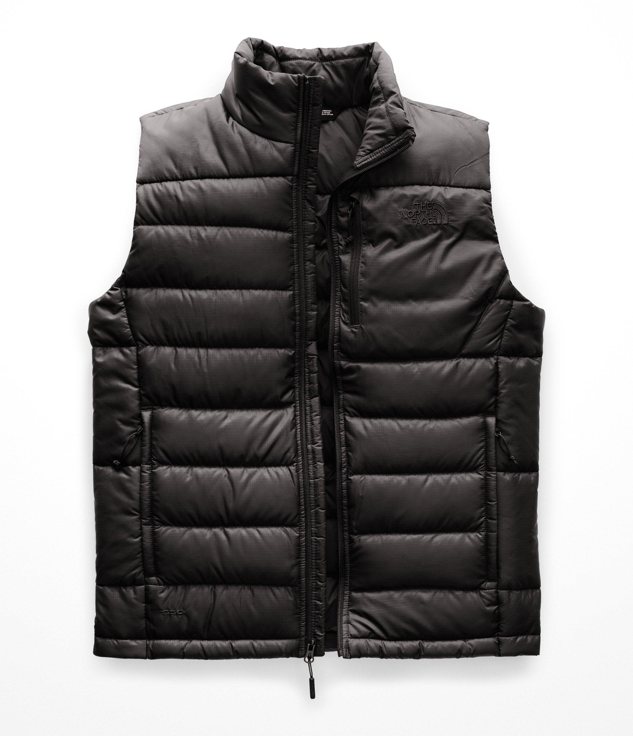 The North Face Men's Aconcagua Vest - Asphalt Grey - XL