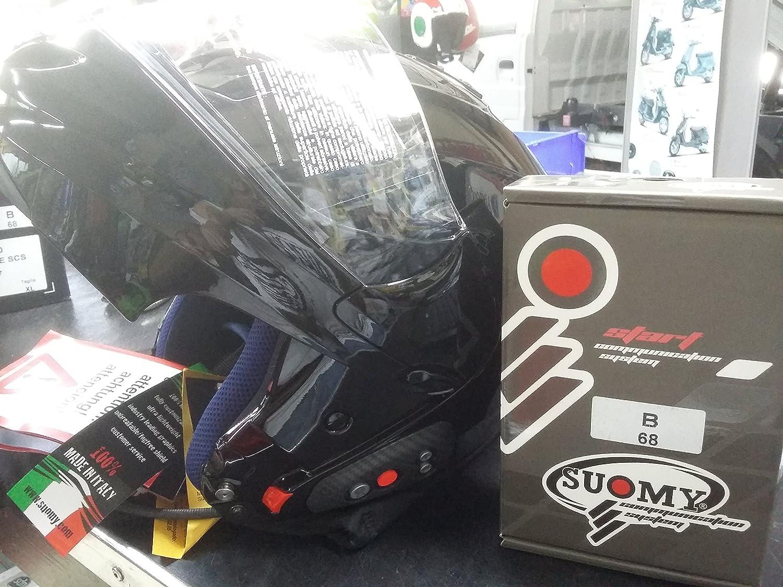 Amazon.es: b064217 Casco Modular Moto Guzzi con Bluetooth Talla XL 61/62 Suomy