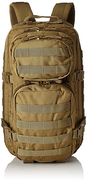 f74b4509d2fe Mil-Tec Military Army Patrol Molle Assault Pack Tactical Combat Rucksack  Backpack Bag 20L Coyote