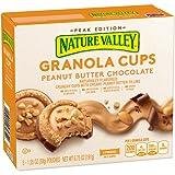 Nature Valley Peak Edition Granola Cups, Peanut Butter, 5 Pouches - 1.35 oz