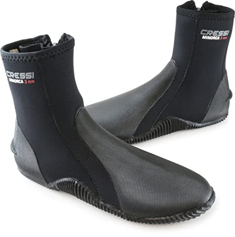 33e885cac974 Amazon.com  Tall Neoprene Water Sport Boots with Sole