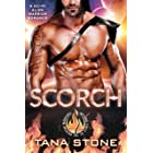 Scorch: A Sci-Fi Alien Warrior Romance (Inferno Force of the Drexian Warriors Book 2)