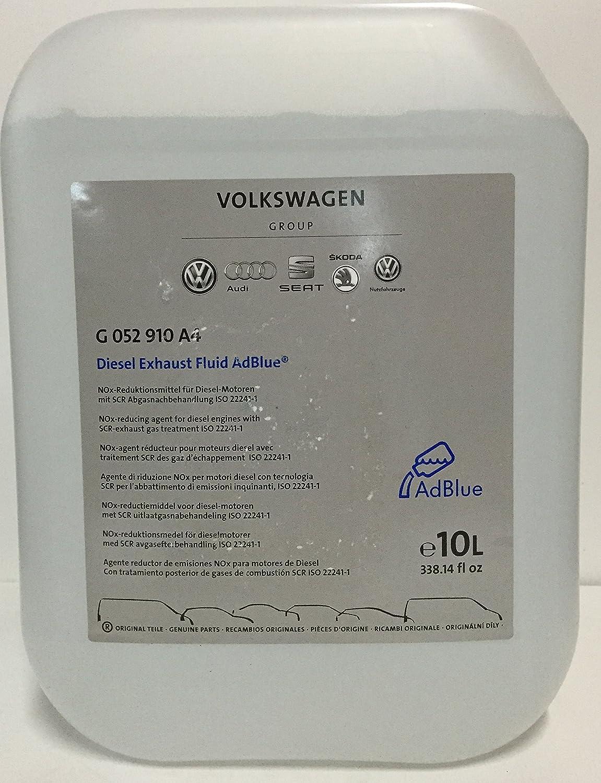 Original VW/Audi Adblue Urea Solution 10 LTS