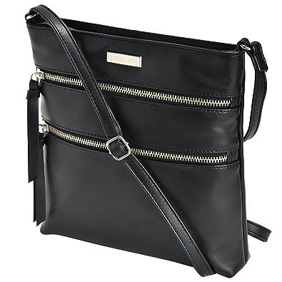 best choice structural disablities professional Leather Crossbody Purse for Women - Handmade Cross Body Bag Over the  Shoulder Purses Small Womens Handbag Messenger Bags by Estalon