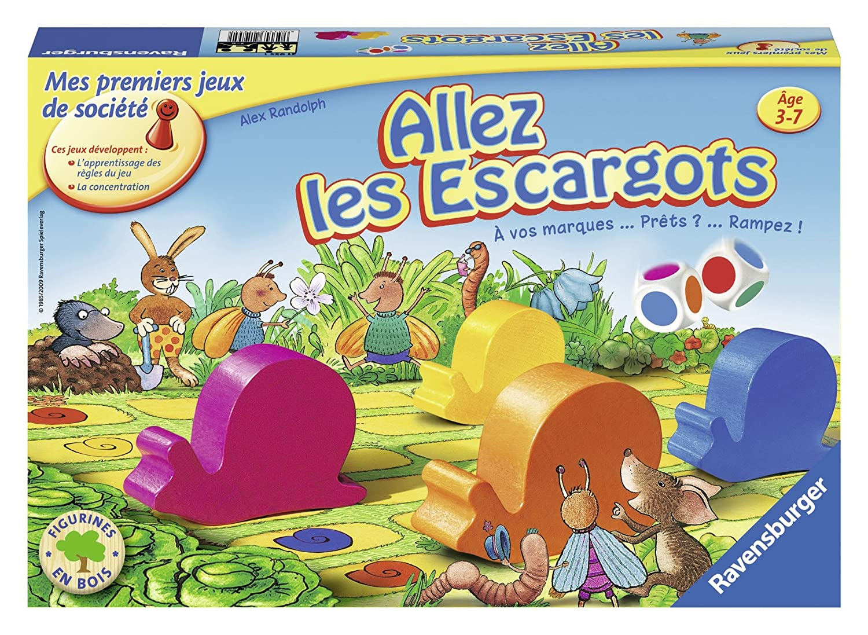 Allez, les escargots ! : Tempo, kleine Schneckle ! | Randolph, Alex. Auteur