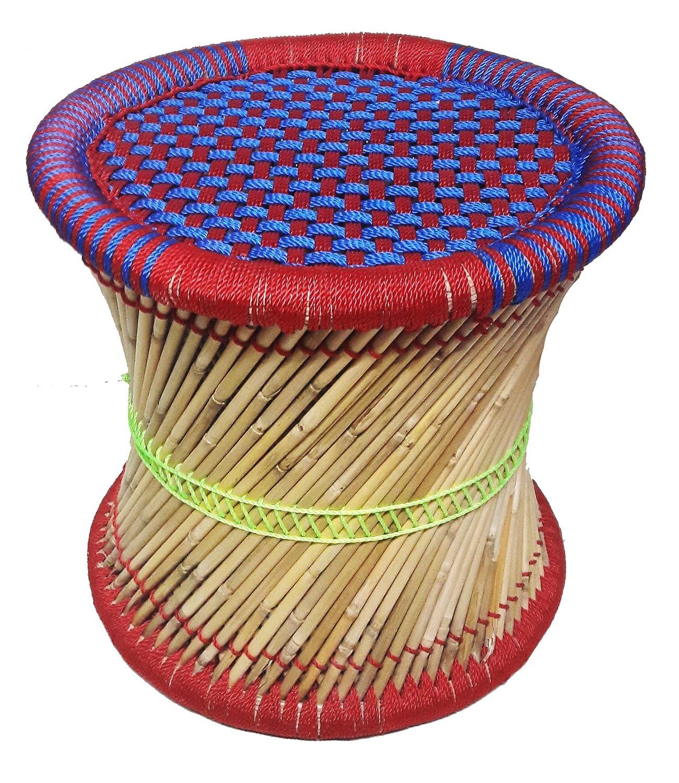Pushkar Handicraft Exclusive Product Cane Bar Stool (Multicolour, 81)