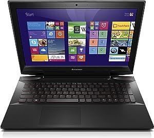 "Lenovo Y50 59425943 Laptop (Windows 8, Intel Core i7-4700HQ, 15.6"" LED-lit Screen, Storage: 16 GB, RAM: 16 GB) Black"