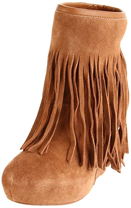 75d1343bf12 Amazon.com | Koolaburra Women's Veleta Wedge Boot, Chestnut, 10 M US ...