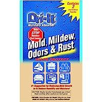 Dri-It MA-2-125-A - Absorbedor de humedad con reverso desechable de pelar y pegar en un paquete doble