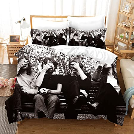 Letto Band.Tsckhwe Set Biancheria Da Letto Stampa 3d Rock Band Bedding Set