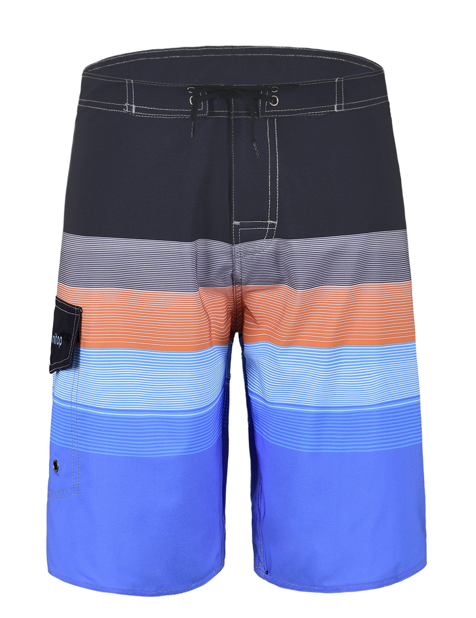 Unitop Men's Beachwear Board Shorts Orange 36