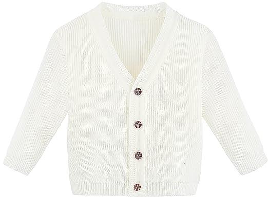 a93dd7fd8 Amazon.com  Lilax Little Boys Basic Long Sleeve V-Neck Classic Knit ...