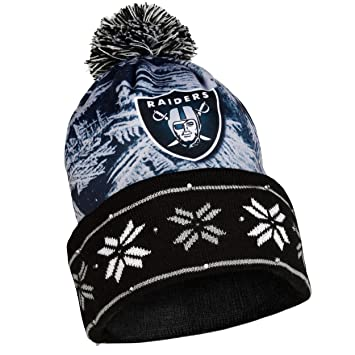 aacec4623a9 NFL Oakland Raiders Light Up Knit Hat  Amazon.ca  Sports   Outdoors