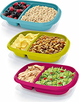 3-Pack Rubbermaid TakeAlongs Sandwich Food Storage Containers